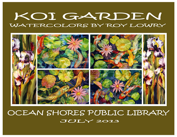 Floral and Koi Pond Gardens - Roy Lowry