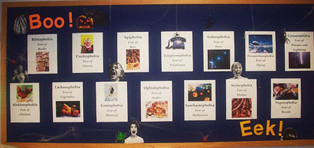 October Phobia Board