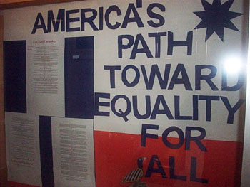America's Path Toward Equality For All