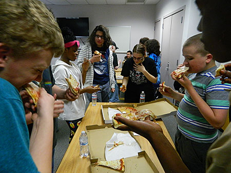 Teen Pizza Party 2015
